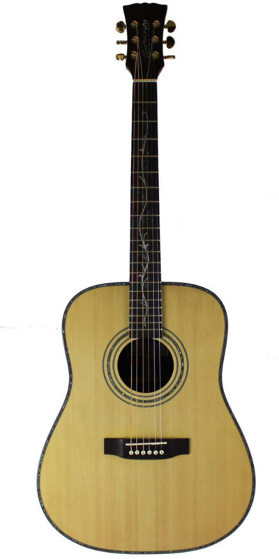 Master built cassidy guitars all solid acoustic guitar