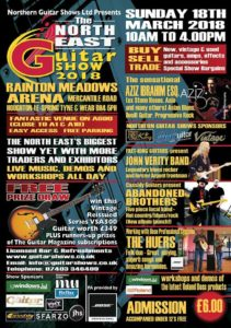 North East Guitar Show poster