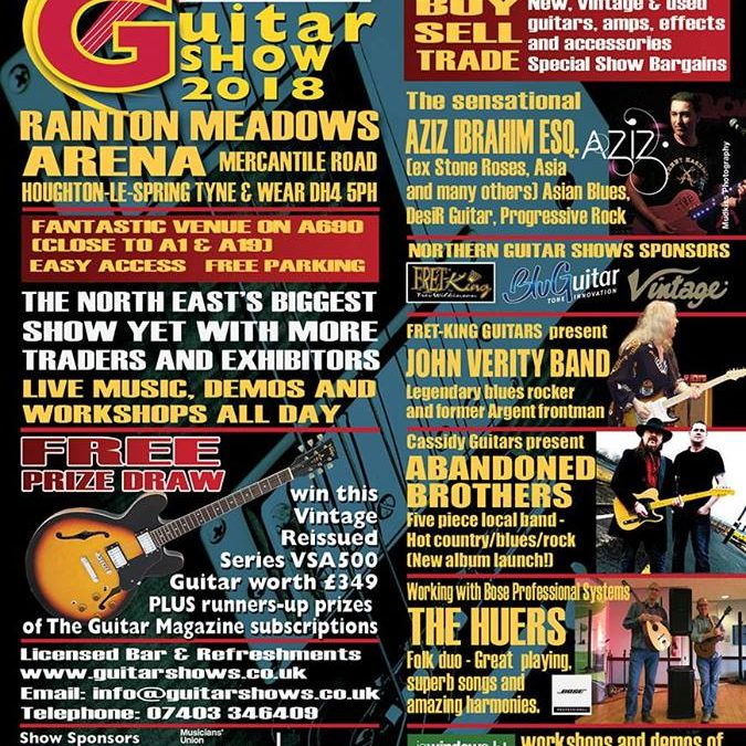 North East Guitar Show 2018