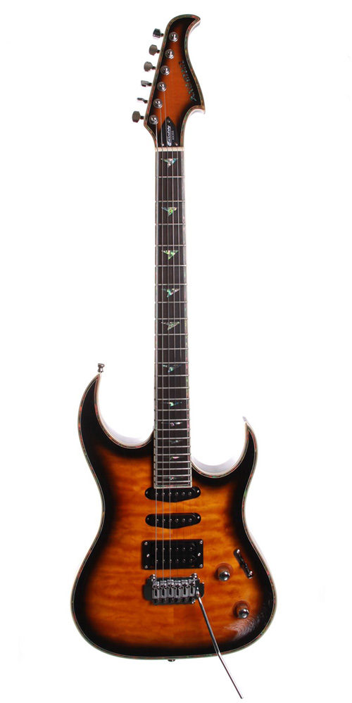 Cassidy Guitars Axeman Series electric guitar AX355