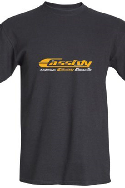 Cassidy Guitars Black T Shirt