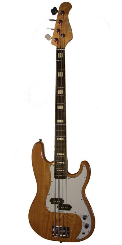 Cassidy Guitars Bluesville bass guitar in ash BVB351