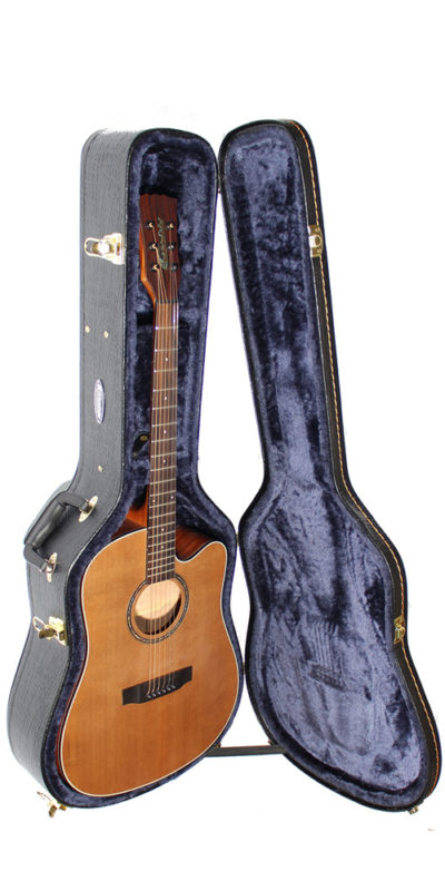 Cassidy acoustic Guitar Hard Case