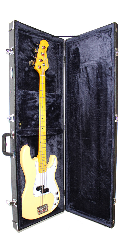 Cassidy electric bass Guitar Hard Case