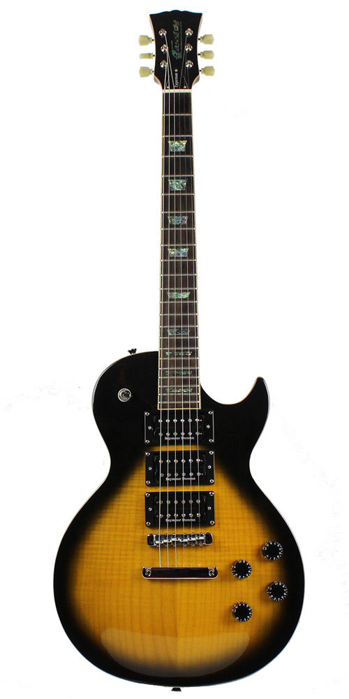 Cassidy Guitars UK custom built les paul style electric guitar