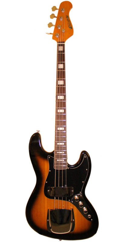 UK CUstom built Jazz Bass by Cassidy Guitars