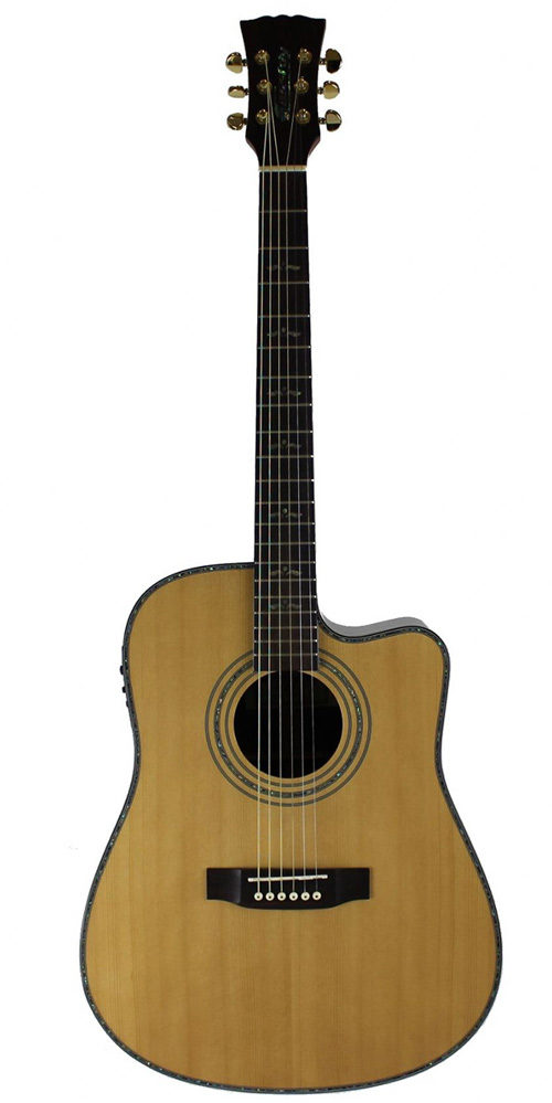 Master built cassidy guitars all solid electro acoustic guitar