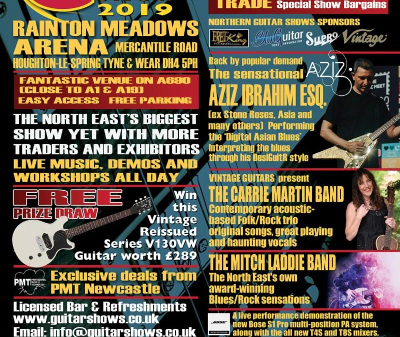 North East Guitar Show 2019