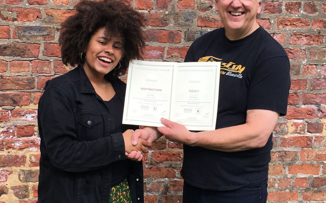 Double Grade 8 Exam Success for Laila Riley