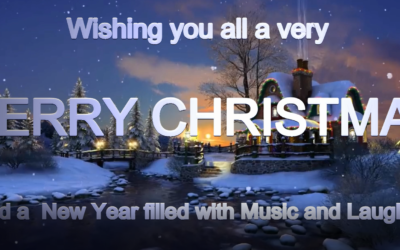 Merry Christmas and a Safe and Healthy New Year